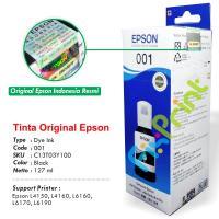 Tinta Refill Epson Original 001 Black 127ml C13T03Y100, Tinta Refill Printer Epson L4150 L4160 L6160 L6170 L6190