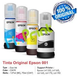 Tinta Refill Epson Original 001 Magenta 70ml C13T03Y300, Tinta Refill Printer Epson L4150 L4160 L6160 L6170 L6190
