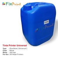 Tinta Refill Galon Universal Black 20 Liter, Tinta Printer Galon Dye Base