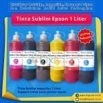 Tinta Refill Sublim Epson Cyan 1 Liter