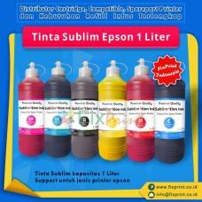 Tinta Refill Sublim Epson Black 1 Liter