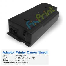 Adaptor Printer Canon MX328 Bekas Like New, Power Supply Canon MX-328 Bekas Like New