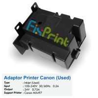 Adaptor Printer Canon MX497 Bekas Like New, Power Supply Canon MX-497 Bekas Like New