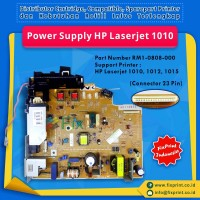 Power Supply HP Laserjet 1010 1012 1015 DC Controller Used, Power Board Part Number RM1-0808-000