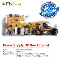 Power Supply HP Laserjet Pro M102a M102w M102 MFP M130 M130fw M130a M130nw M130fn DC Controller New Original, Power Board Part Number RM2-8212