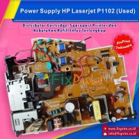 Power Supply HP Laserjet Pro P1102 DC Controller Bekas Like New, Power Board Part Number RM1-7591-000