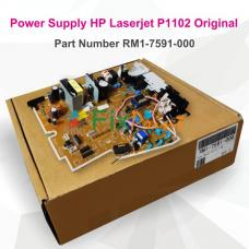 Power Supply HP Laserjet Pro P1102 DC Controller New Original, Power Board Part Number RM1-7591-000