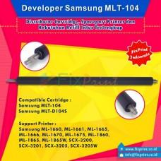 Developer Samsung MLT-104 MLT-D104S MLT-D1042S, Printer Samsung ML-1660 ML-1661 ML-1665 ML-1666 ML-1670 ML-1675 ML-1860 ML-1865 ML-1865W SCX-3200 SCX-3201 SCX-3205 SCX-3205W