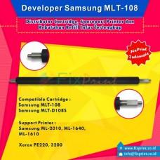 Developer Samsung MLT-108 MLT108 MLT-D108S, Developer Roller Samsung ML-2010 ML1640 ML1610 Xerox PE220 3200