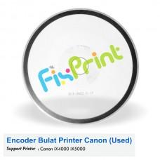 Encoder Bulat Canon iX4000 iX5000 Bekas Like New, Timing Disk Printer IX4000 IX5000