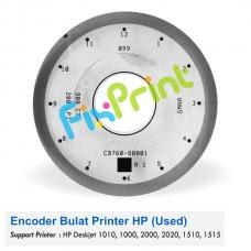 Encoder Bulat HP Deskjet 1010 1000 2000 2020 1510 1515, Timing Disk D1010 D1000 D2000 D2020 D1510 D1515 Used