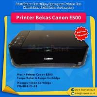 Printer Inkjet Canon E500 Used