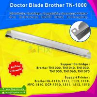 Doctor Blade Brother tn-1000 tn1000 TN1040 TN1030 TN1050 TN1060 TN1075, Doctor Blade Cartridge Printer Hl-1110 Hl-1111 Hl-1112 MFC-1810 HL-1118 Dcp-1510 Dcp-1511 Dcp-1512 Dcp-1515
