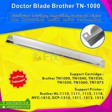 Doctor Blade Brother tn-1000 tn1000 TN1040 TN1030 TN1050 TN1060 TN1075, Doctor Blade Cartridge Printer Hl-1110 Hl-1111 Hl-1112 MFC-1810 HL-1118 Dcp-1510 Dcp-1511 Dcp-1512 Dcp-1515