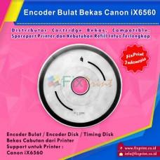 Encoder Bulat Canon iX6560 6560 Bekas Like New, Timing Disk Printer IX 6560