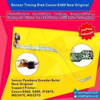 Sensor Timing Disk / Pembaca Sensor Encoder Bulat Canon E460 iP2870 MG2570 MG2470 E400 New Original