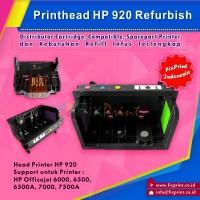 Head Printer HP 920, Printhead HP Officejet 6000 6500 6500A 7000 7500A Refurbish
