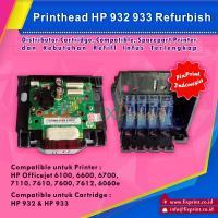 Head Printer HP 932 933 Refurbish, Printhead HP Officejet 6100 6600 6700 7110 7610 7600 7612 6060 Refurbish
