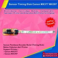 Sensor Timing Disk / Pembaca Sensor Encoder Bulat Canon MX377 MX397 Bekas Like New
