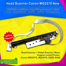 Head Scanner Canon E460 MG2570 MG2470 E400 + Kabel Scanner New Original
