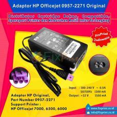Adaptor Printer HP Officejet 7000 6500 6000 New Original Konektor Ungu, Power Supply HP OJ 7000 6500 6000 32 Volt, Part Number 0957-2271