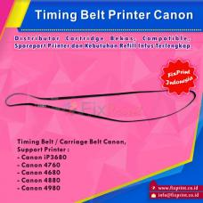 Timing Belt Canon iP3680 iP4760 iP4680 iP4880 iP4980 Bekas Like New, Carriage Belt Printer IP-3680