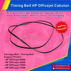Timing Belt HP Officejet 7000 7500 6000 6500 Bekas Like New, Carriage Belt Printer HP Officejet 7000 7500 6000 6500