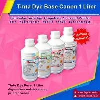 Tinta Refill Canon Black 1 Liter, Tinta Dye Base Canon