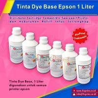 Tinta Refill Epson Black 1 Liter, Tinta Dye Base Epson