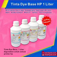 Tinta Refill HP Yellow 1 Liter, Tinta Dye Base HP