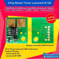 Chip Toner Cartridge Lexmark E120, Chip Reset Lexmark E120