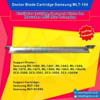 Doctor Blade  MLT-104 MLT-D104S MLT-D1042S Cleaning Blade Printer Samsung ML-1660 ML-1661 ML-1665 ML-1666 ML-1670 ML-1675 ML-1860 ML-1865 ML-1865W SCX-3200 SCX-3201 SCX-3205 SCX-3205W