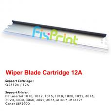 Wiper Blade Cartridge 12A Q2612A, Printer HP LaserJet 1010 1012 1015 1018 1020 1020 Plus 1022 Series 3015 3020 3030 3050 3050z 3052 3055 All-in-One M1005 MFP M1319f MFP Canon LBP 2900