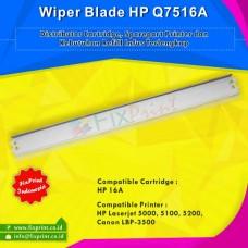 Wiper Blade HP Q7516A 16A Canon 309, Printer HP Laserjet 5000 5100 5200 Canon LBP-3500